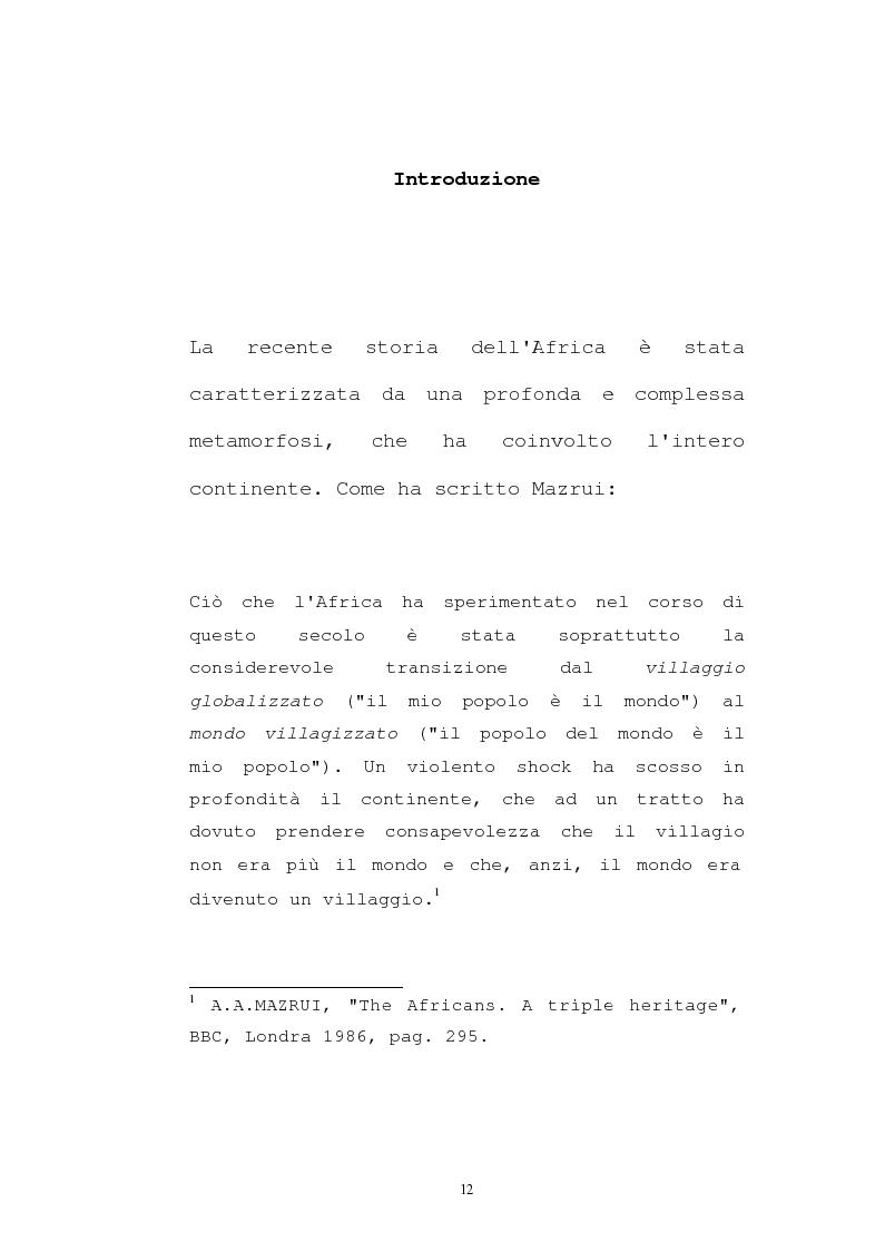 Anteprima della tesi: Il pensiero socio-politico di Tsenay Serequeberhan: un'ermeneutica della filosofia africana, Pagina 8