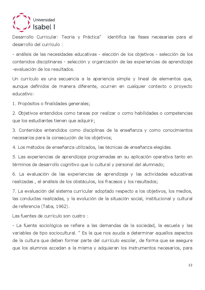 Estratto dalla tesi: Programación Didáctica de Lengua Castellana de 1° Y 2º de Bachillerato