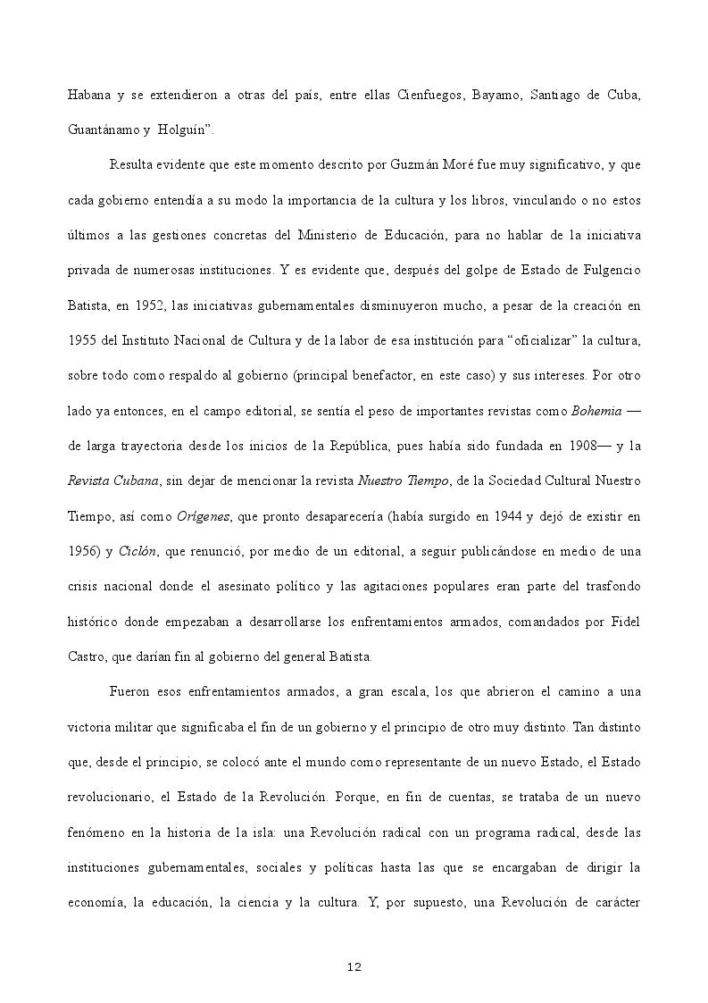 Estratto dalla tesi: La política editorial en el regimen cubano