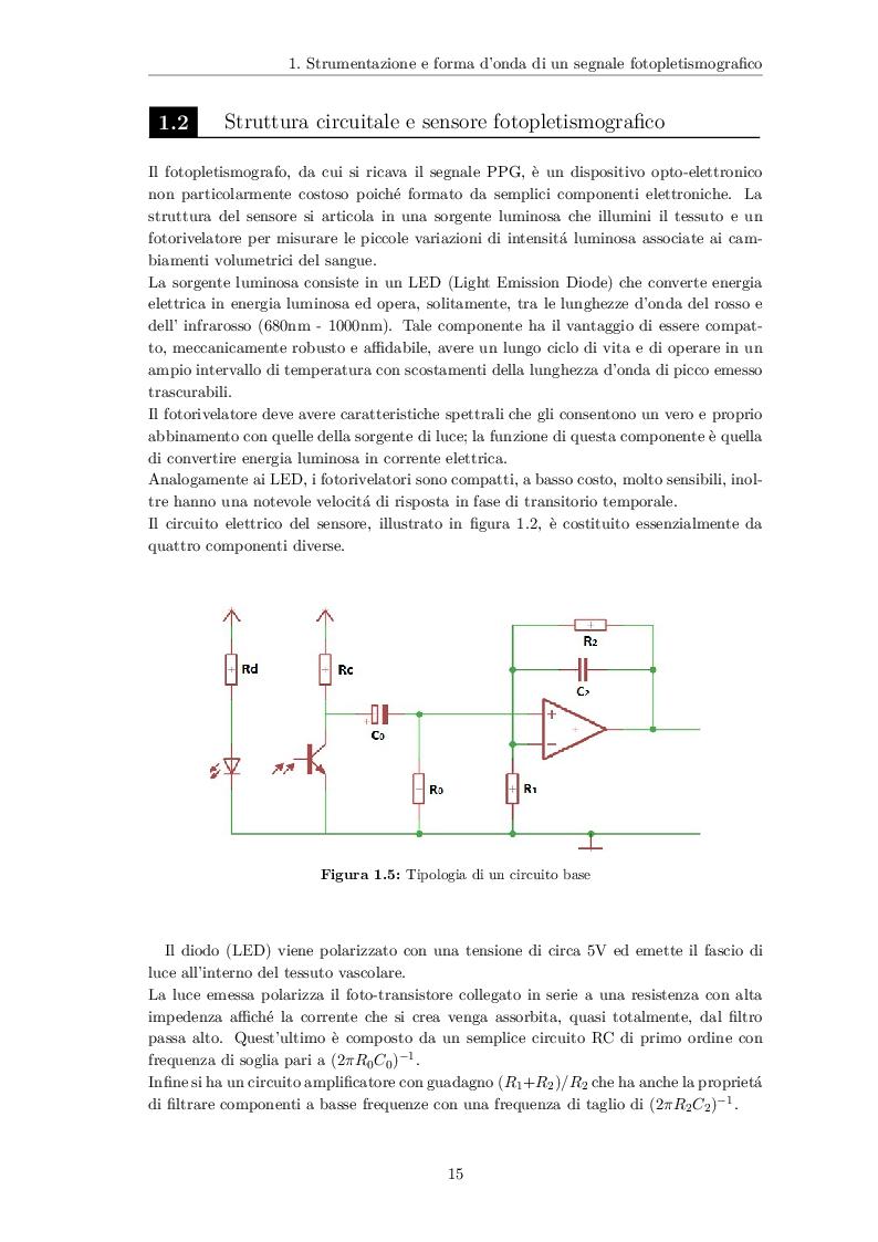 Estratto dalla tesi: Analisi spettrale di un segnale fotopletismografico (PPG) per lo sviluppo di un algoritmo di stima del battito cardiaco basato sul filtro di Kalman