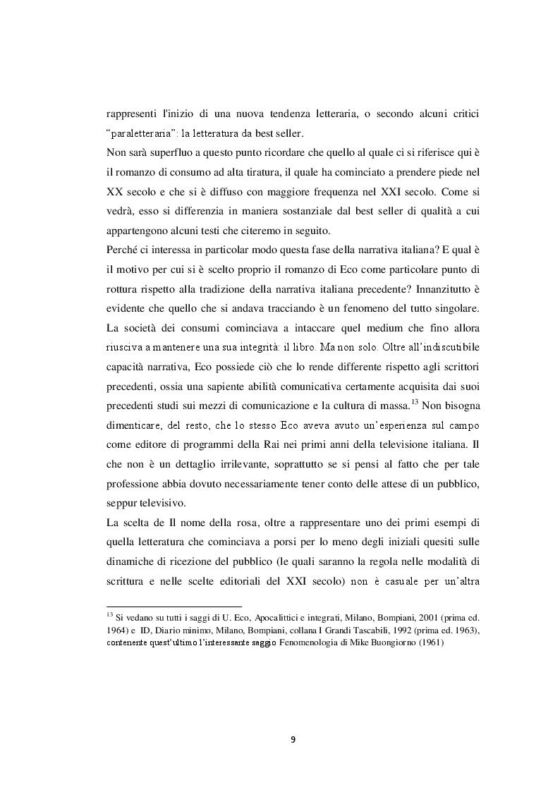 Estratto dalla tesi: Lo scrittore al tempo dei media digitali: il caso di Alessandro Baricco