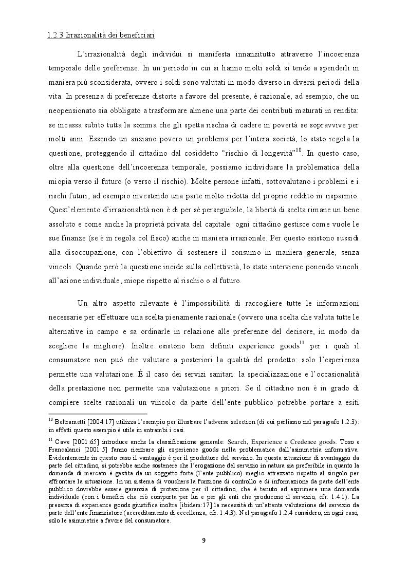 Estratto dalla tesi: L'esenzione fiscale in Valla d'Aosta: storia e analisi di un servizio gestito tramite buoni servizio (vouchers)
