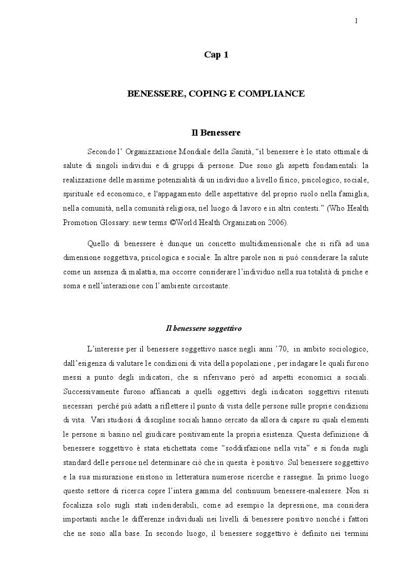 Anteprima della tesi: Assistenza psicologica e benessere nel trapianto di rene, Pagina 4