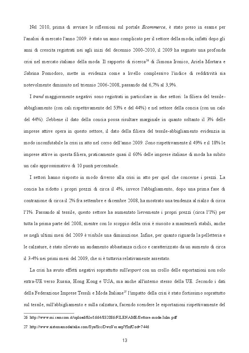 Estratto dalla tesi: Nascita e sviluppo di un portale Ecommerce: il caso STYLE UP! Web