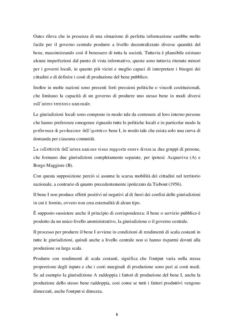 Estratto dalla tesi: L'Unione dei comuni. Il caso della Lombardia