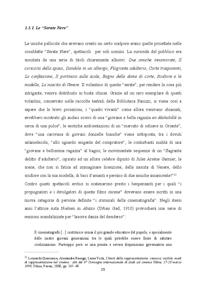 Estratto dalla tesi: La censura nel cinema muto italiano