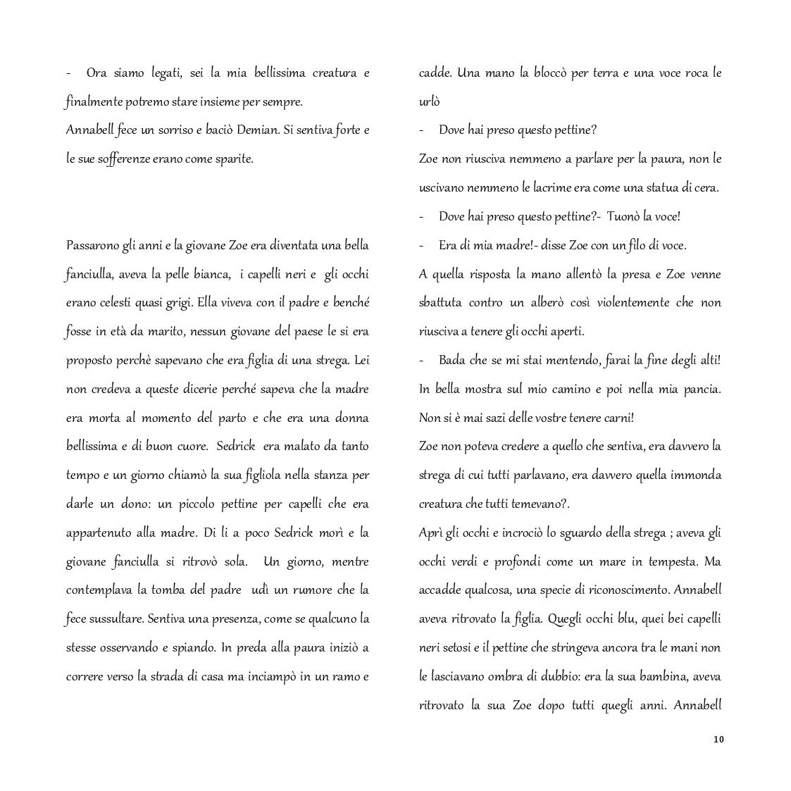 """Estratto dalla tesi: Progettazione virtuale delle scenografie per lo spettacolo inedito """"Annabell"""""""