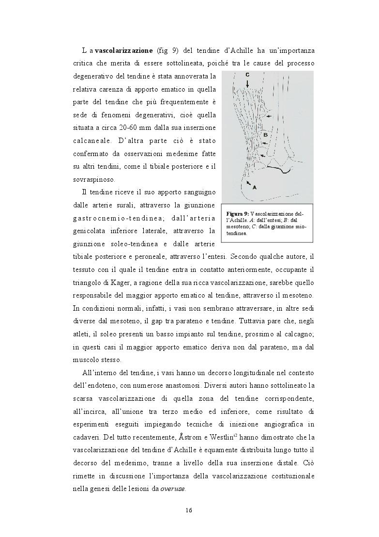 Estratto dalla tesi: Ricostruzione delle perdite di sostanza post-operatorie della regione achillea mediante lembi liberi microvascolari