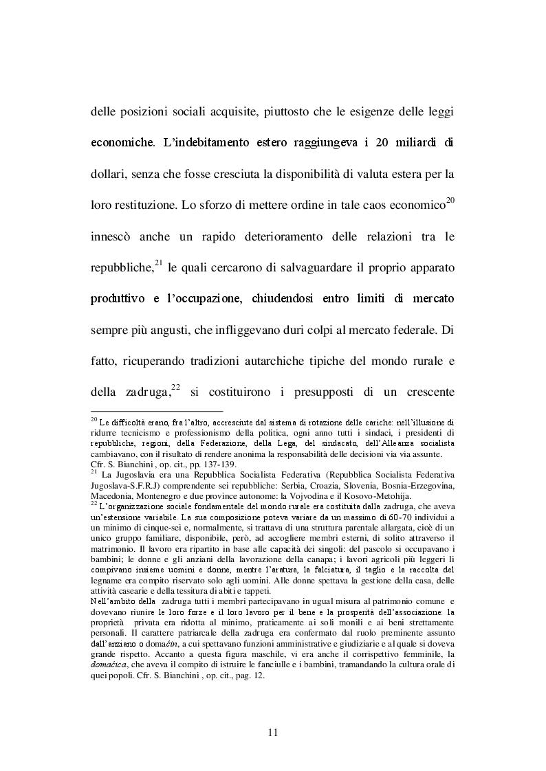 Estratto dalla tesi: Bosnia-Erzegovina: dalla multietnicità e multiculturalità allo scoppio dei nazionalismi. Il ''bosniaco'': una nuova lingua?