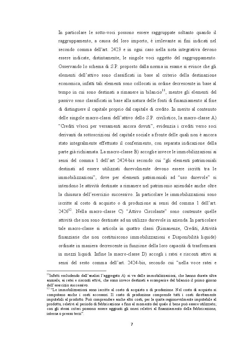 Estratto dalla tesi: Dal bilancio civilistico all'analisi per indici: il caso Nero Giardini