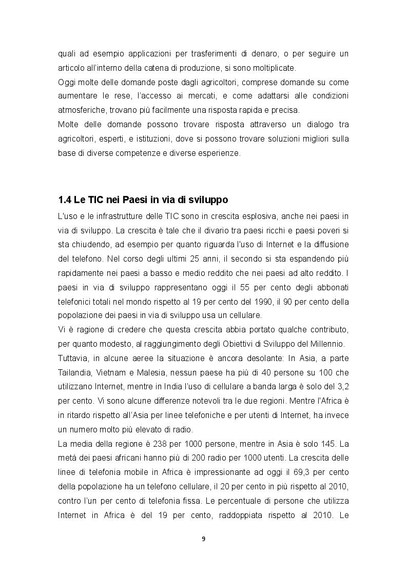 Estratto dalla tesi: Le TIC: uno strumento per facilitare l'accesso e la condivisione di informazioni nello sviluppo dell'agricoltura: Caso del Perù.