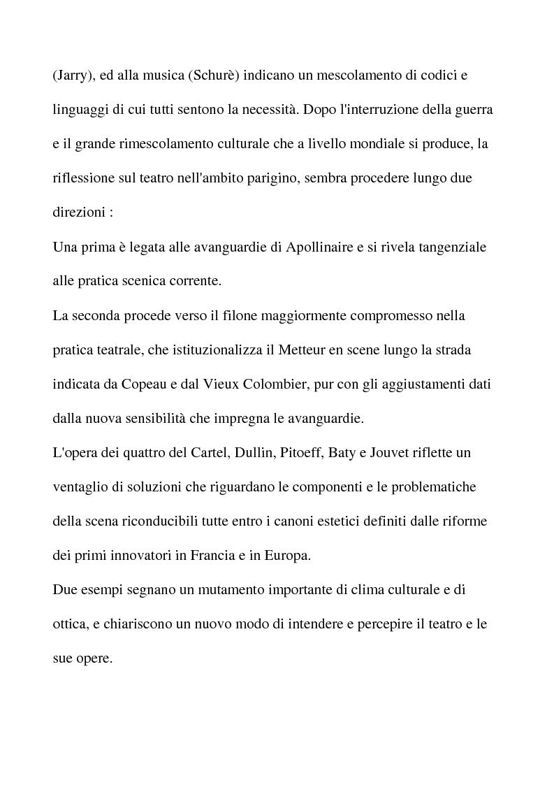 Anteprima della tesi: Letterati a teatro, Pagina 6