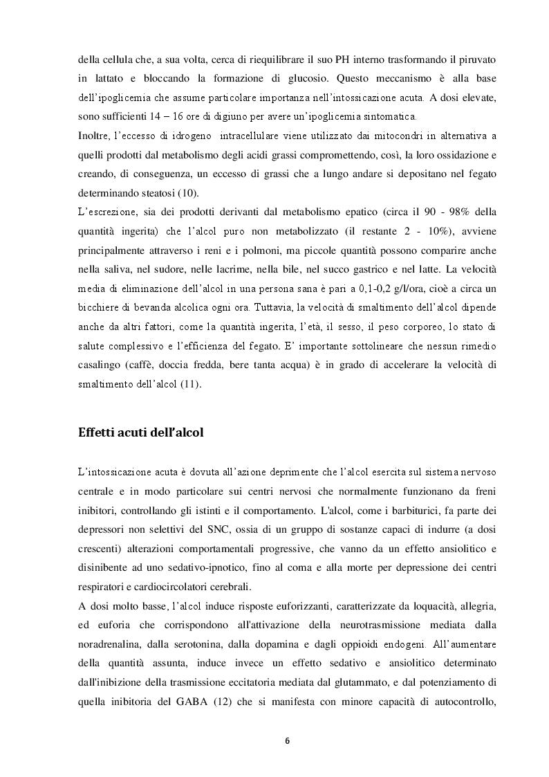 Estratto dalla tesi: Adolescenti e alcol: una revisione sistematica per valutare l'efficacia dei programmi di prevenzione primaria e secondaria
