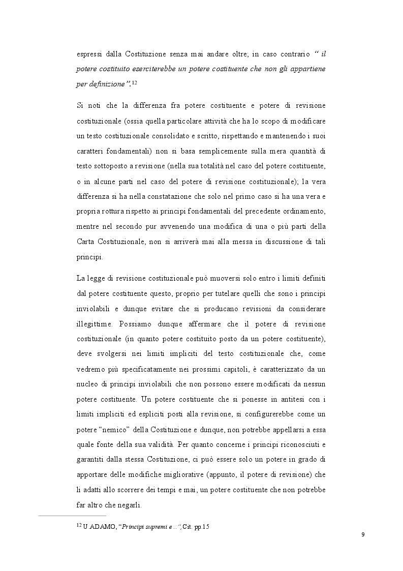 Estratto dalla tesi: La revisione costituzionale. L'iter legis e i suoi limiti.
