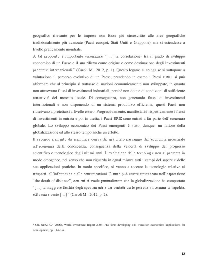 Estratto dalla tesi: Le strategie competitive delle aziende italiane in Cina. Il caso Pedon