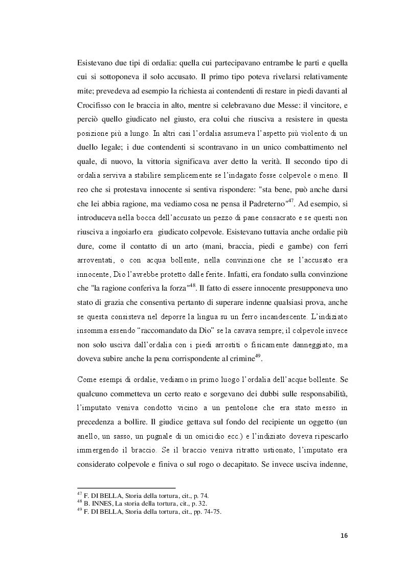 Estratto dalla tesi: Il problema della tortura in Italia