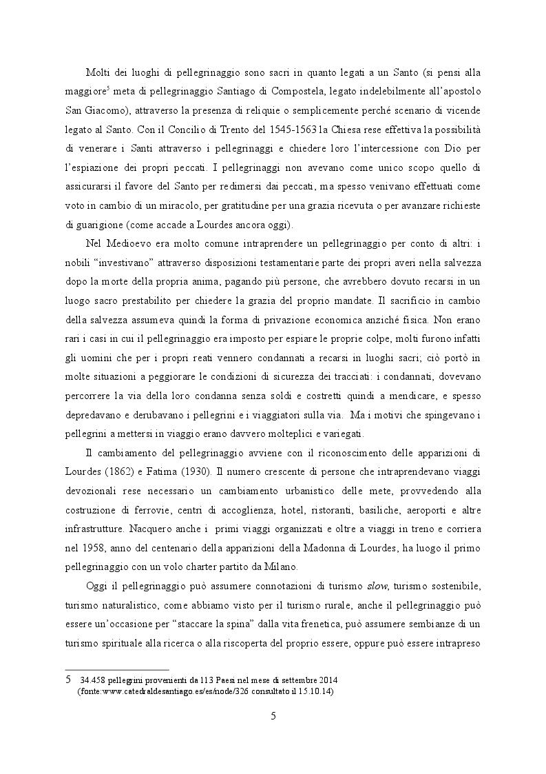 Estratto dalla tesi: La Via Francigena tra le Province di Pisa e Lucca. Valorizzazione per il turismo religioso.