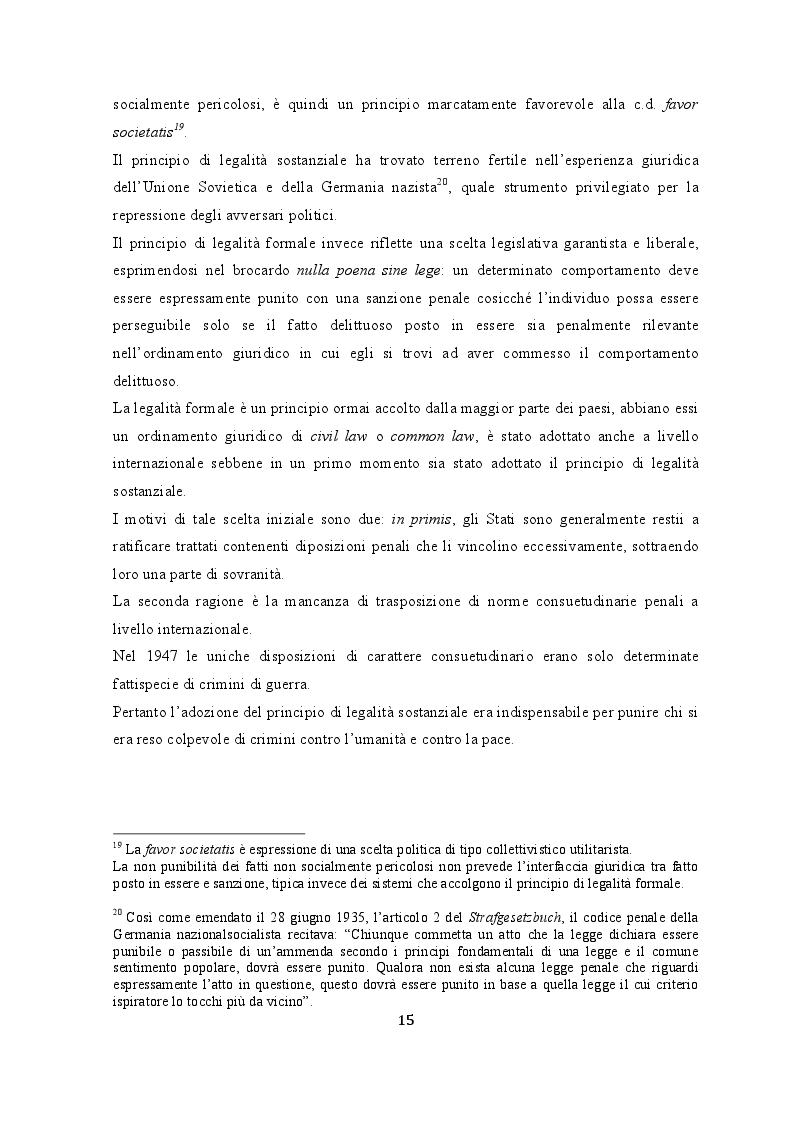 Estratto dalla tesi: Le garanzie processuali dell'imputato nella prassi del Tribunale Penale Internazionale per la Ex Jugoslavia