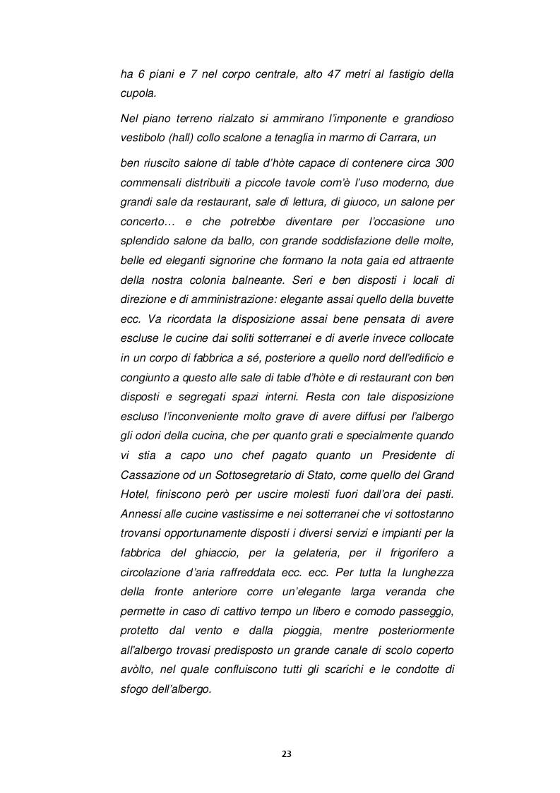 Estratto dalla tesi: IL GRAND HOTEL - Il Restauro dell'Edificio Simbolo di San Pellegrino Terme