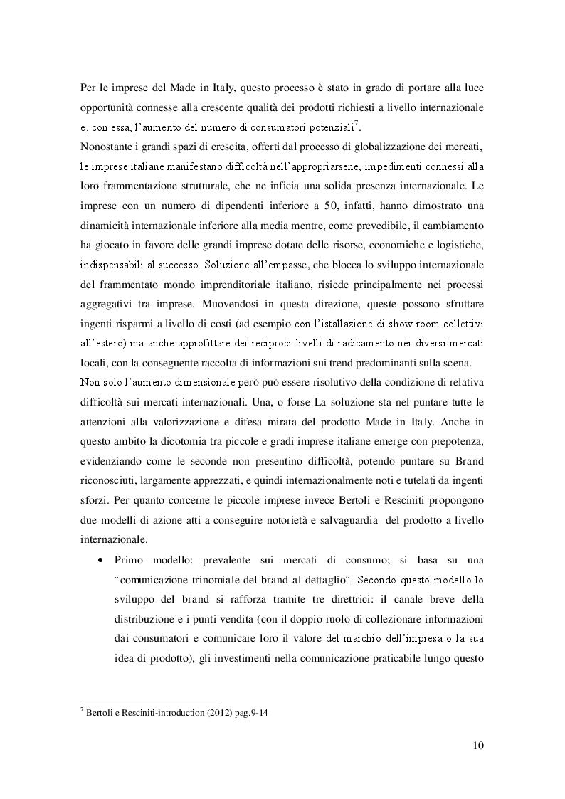 Estratto dalla tesi: La contraffazione dell'agroalimentare italiano: analisi del fenomeno e nuovi approcci risolutivi