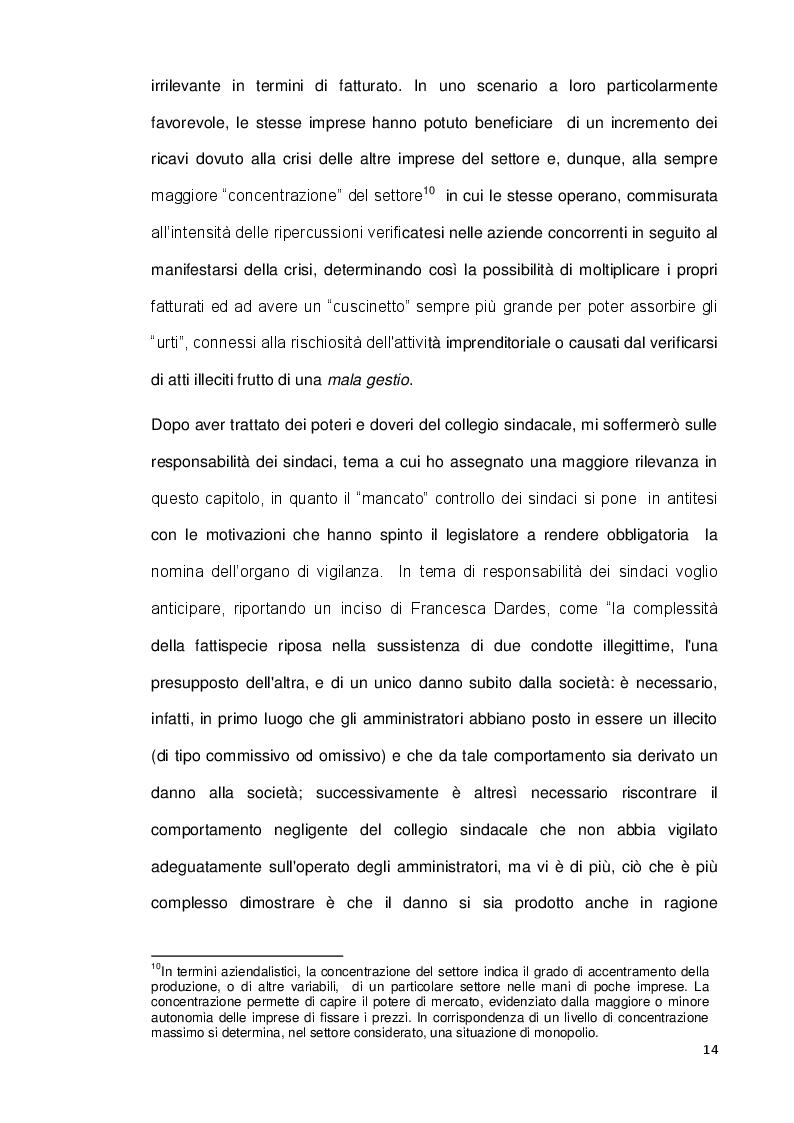 Estratto dalla tesi: L'organo di controllo nelle s.r.l.