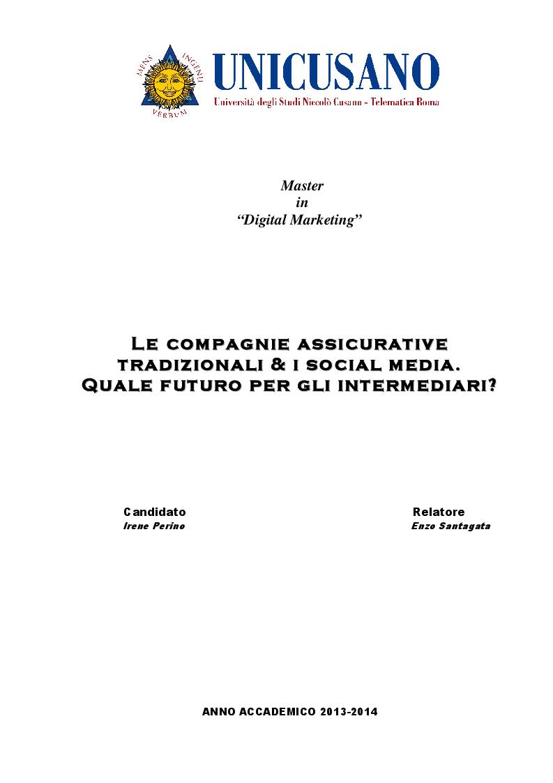 """Quale Futuro Per Gli Artigiani : Master in """"digital marketing l e c o m p a"""