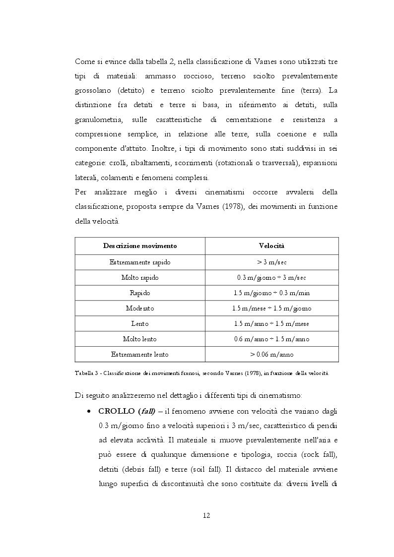 Estratto dalla tesi: La stabilizzazione dei versanti in frana mediante opere di ingegneria naturalistica: le strutture di sostegno in terra rinforzata.