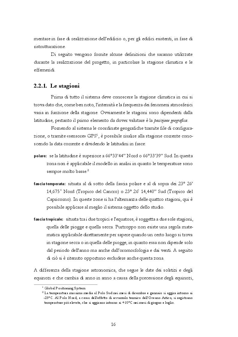 Estratto dalla tesi: Sviluppo di un sistema di climatizzazione da remoto in ambito domotica