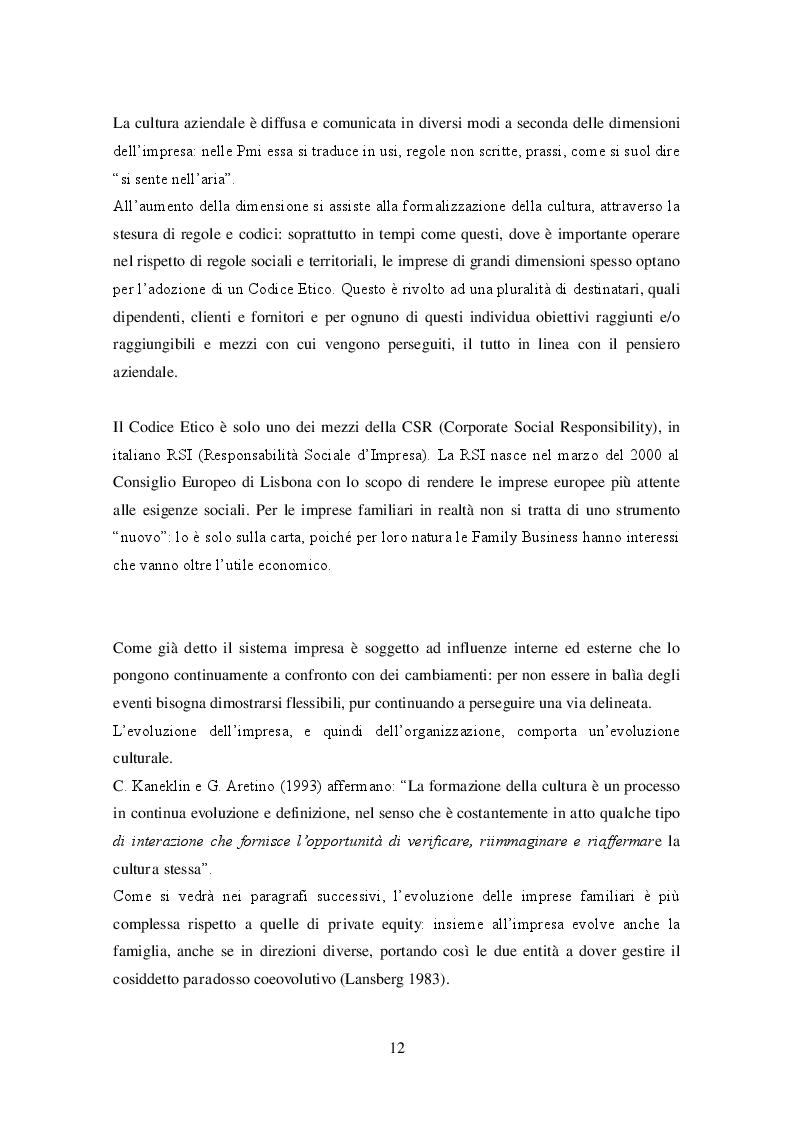 Estratto dalla tesi: Le imprese familiari internazionali: i casi Ferrero SpA e Camardo SpA