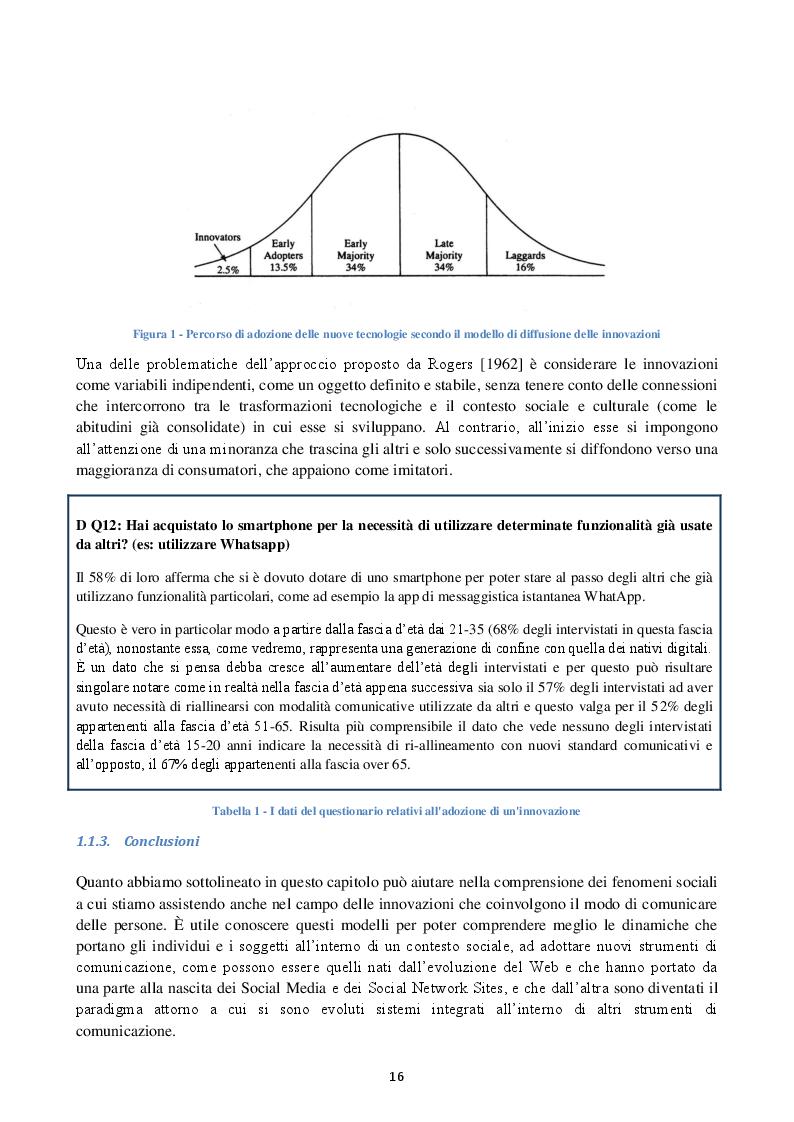 Estratto dalla tesi: La comunicazione digitale nelle organizzazioni strutturate: un caso pratico
