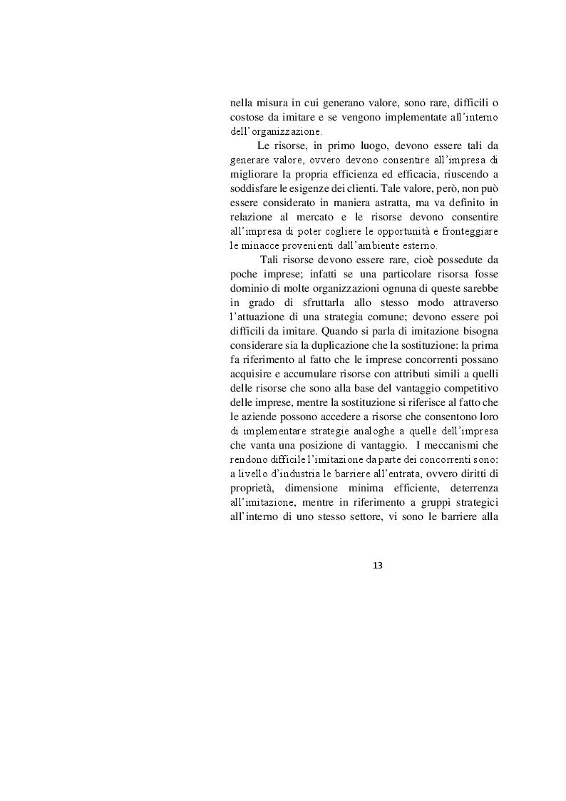 Estratto dalla tesi: Corporate Social Responsibility e performance economico-finanziaria: una causalità inversa?