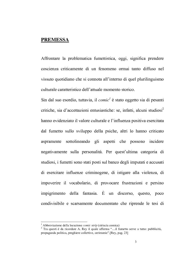 Anteprima della tesi: Per una sociologia del fumetto. Il caso studio di Dylan Dog, Pagina 1