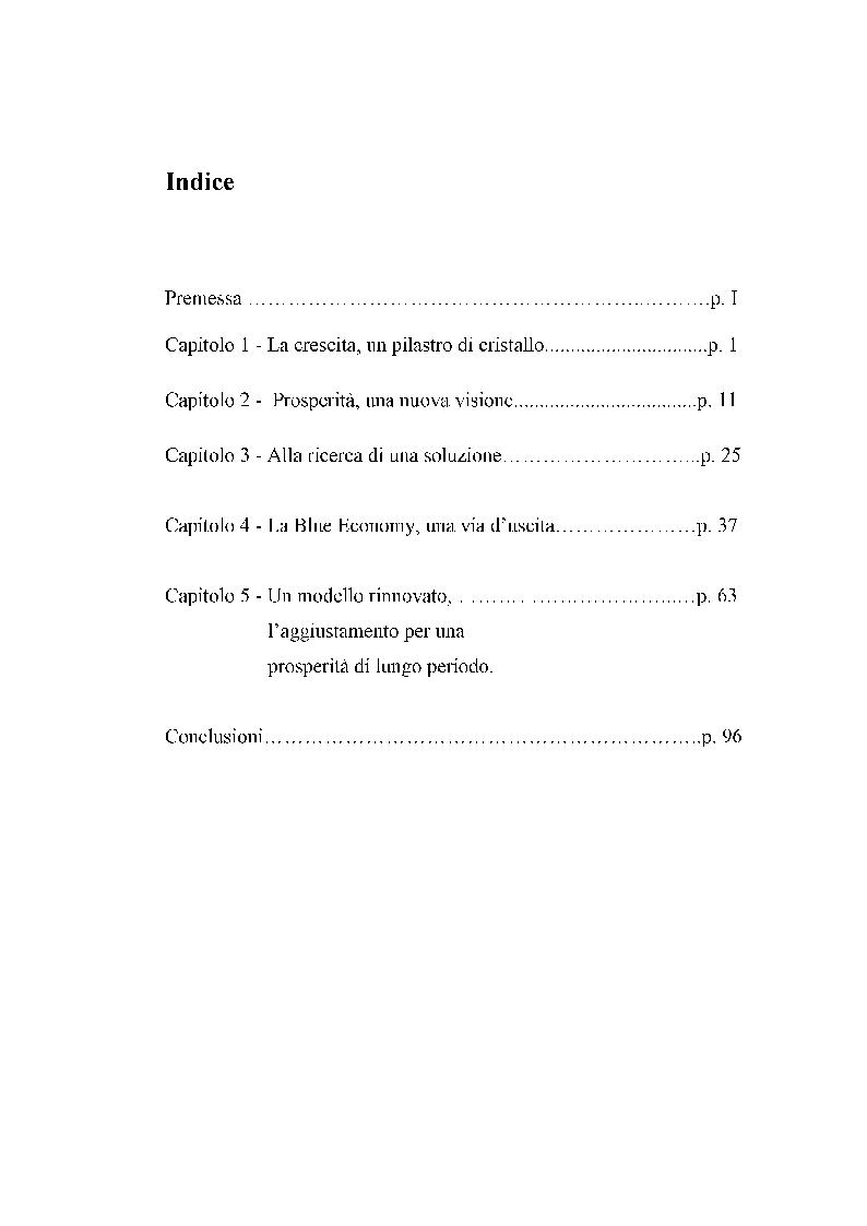 Indice della tesi: Una grande crisi, un'immensa opportunità., Pagina 1