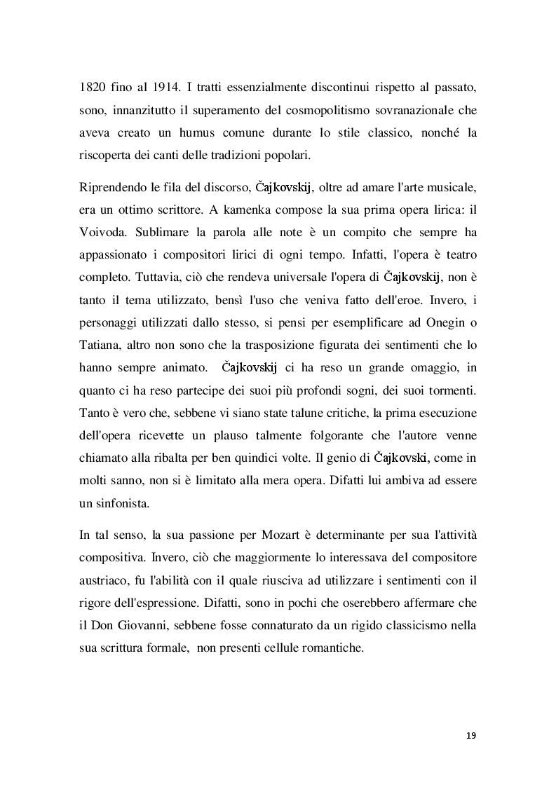 Estratto dalla tesi: Cajkovskij. il difficile rapporto con il gruppo dei cinque