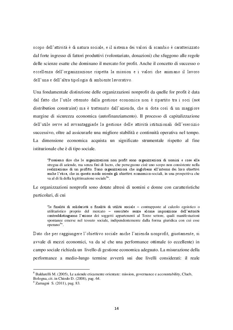 Estratto dalla tesi: Codici di Condotta e Responsabilità Sociale nel settore nonprofit italiano.
