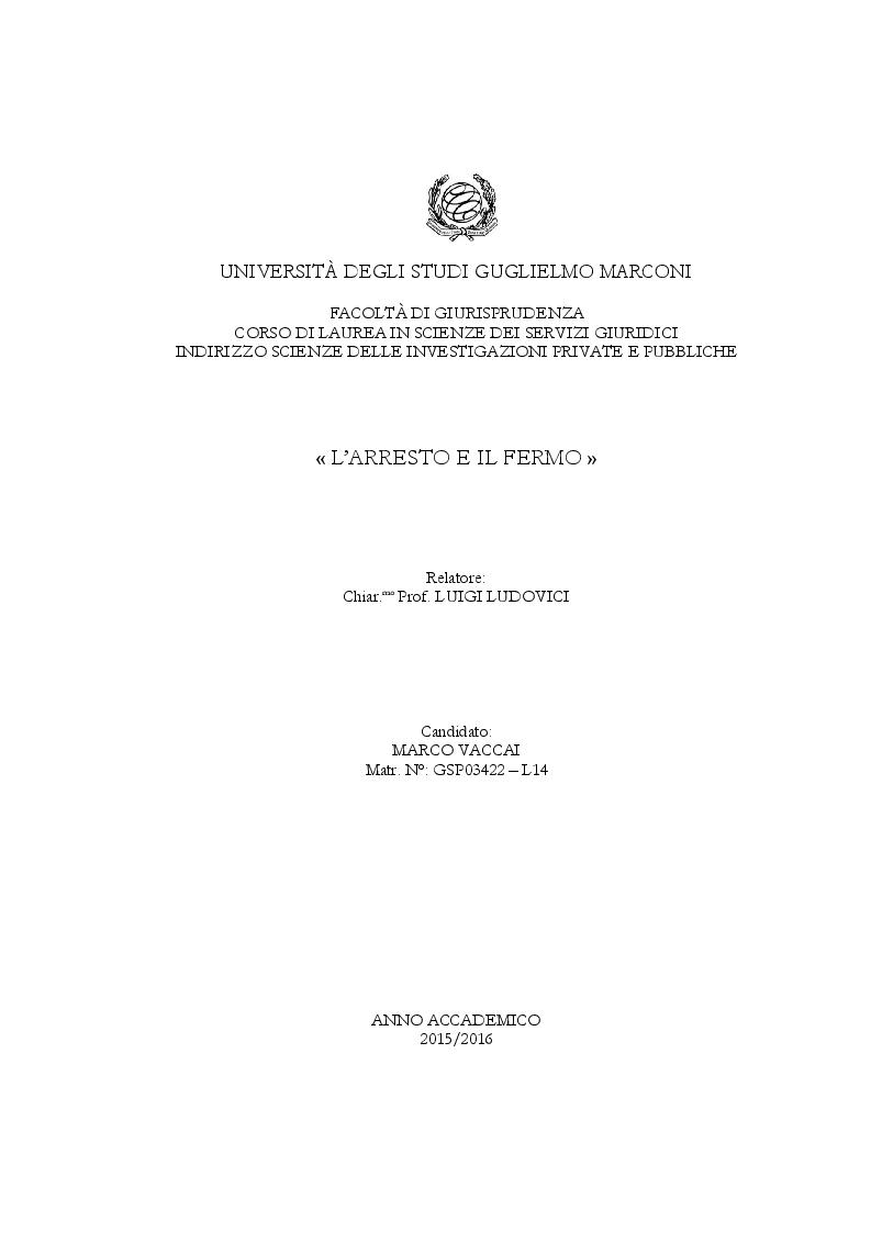 universit degli studi guglielmo marconi facolt di On scienze dei servizi giuridici