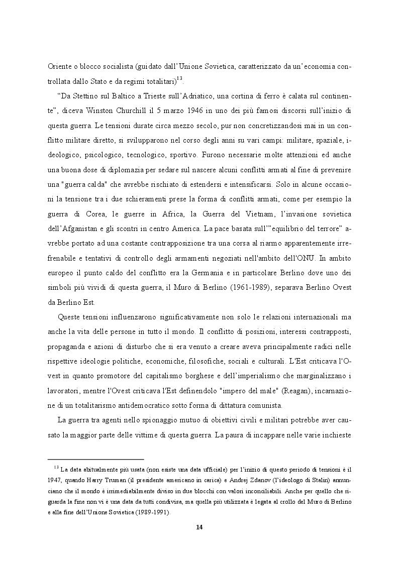 Estratto dalla tesi: Media e Comunicazione tra Italia e Romania durante la Guerra Fredda. Stampa, radio e televisione a confronto.