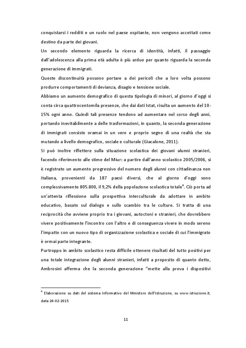 Estratto dalla tesi: Giovani musulmani in Italia: tra fede e cultura italiana