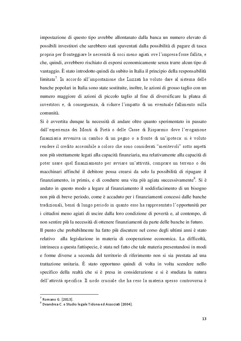 Estratto dalla tesi: La riforma delle banche popolari: analisi degli impatti