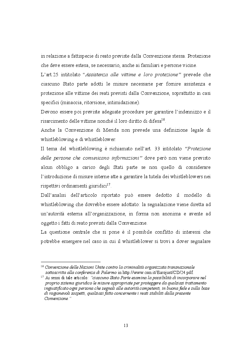Estratto dalla tesi: Profili informatico-giuridici del whistleblowing e della protezione della fonte