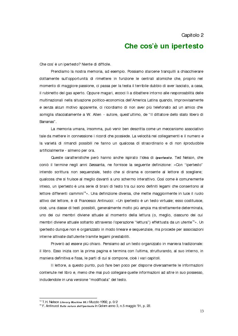 Anteprima della tesi: Sistemi deficienti? Interazione tra utente, ambiente e tecnologie ipermediali., Pagina 11
