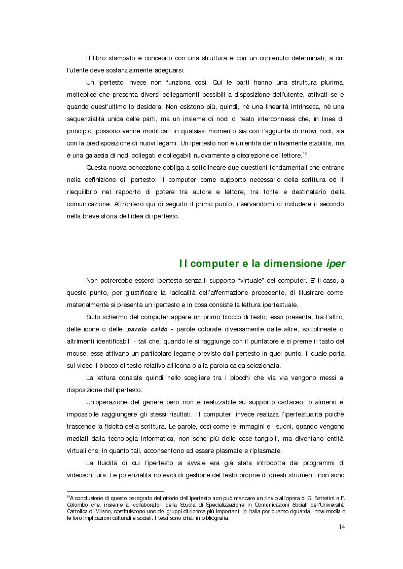 Anteprima della tesi: Sistemi deficienti? Interazione tra utente, ambiente e tecnologie ipermediali., Pagina 12