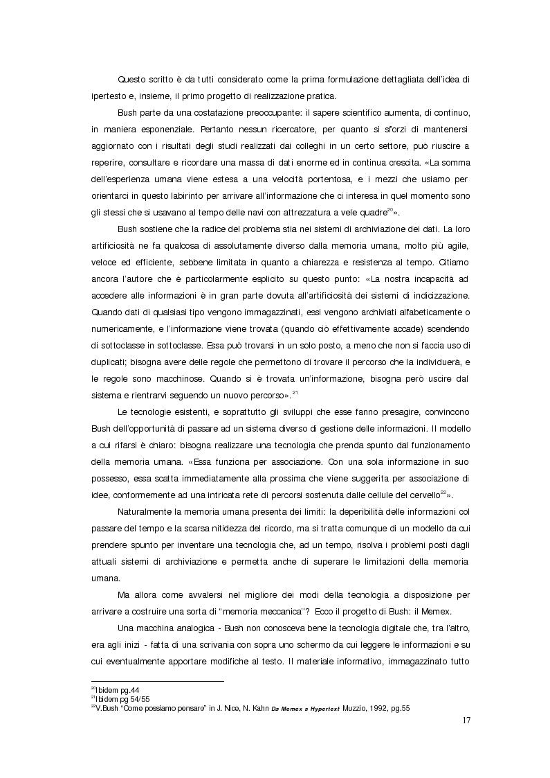 Anteprima della tesi: Sistemi deficienti? Interazione tra utente, ambiente e tecnologie ipermediali., Pagina 15
