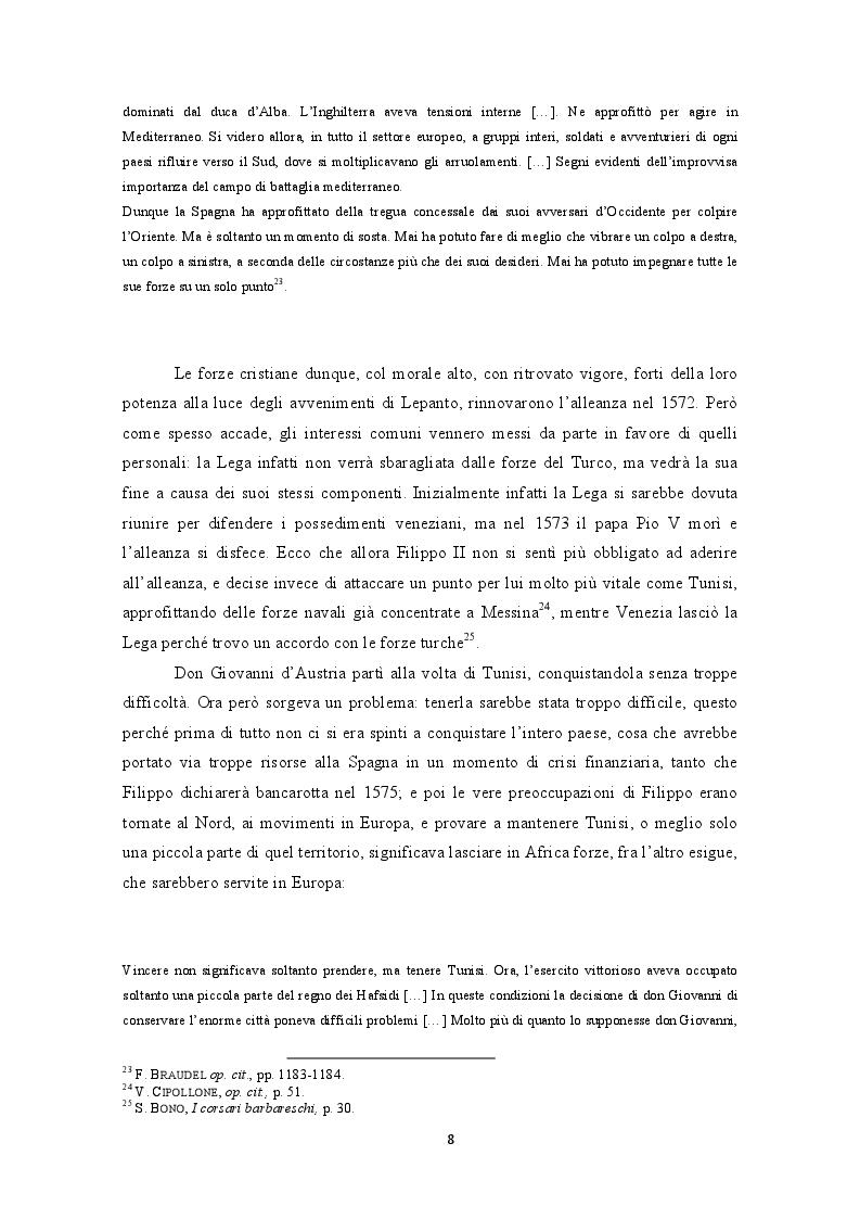 Estratto dalla tesi: La difesa militare nel Regno di Sardegna nell'età di Filippo II