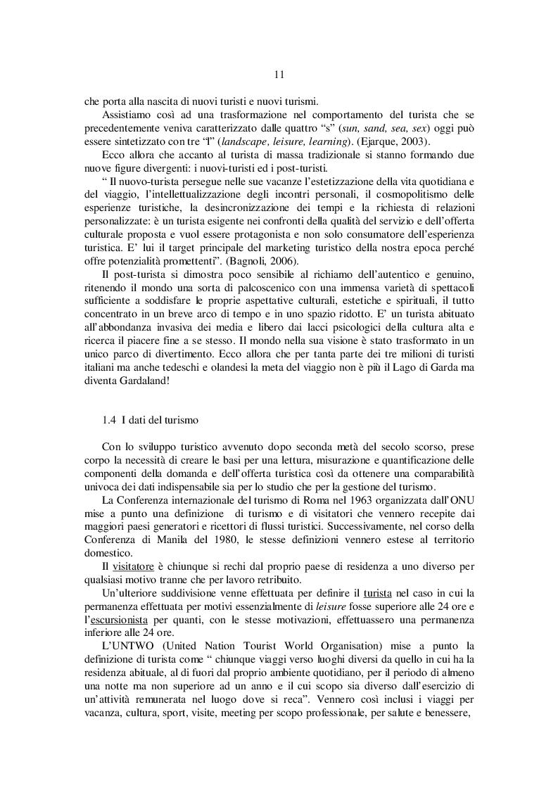 Estratto dalla tesi: Il tortellino: motore del turismo a Valeggio sul Mincio