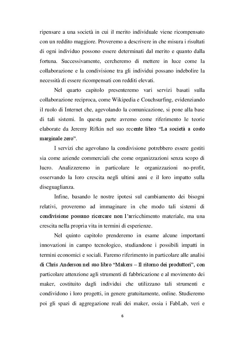 Anteprima della tesi: Capitale e lavoro nel XXI secolo: tra bisogni relativi e produzione condivisa, Pagina 4