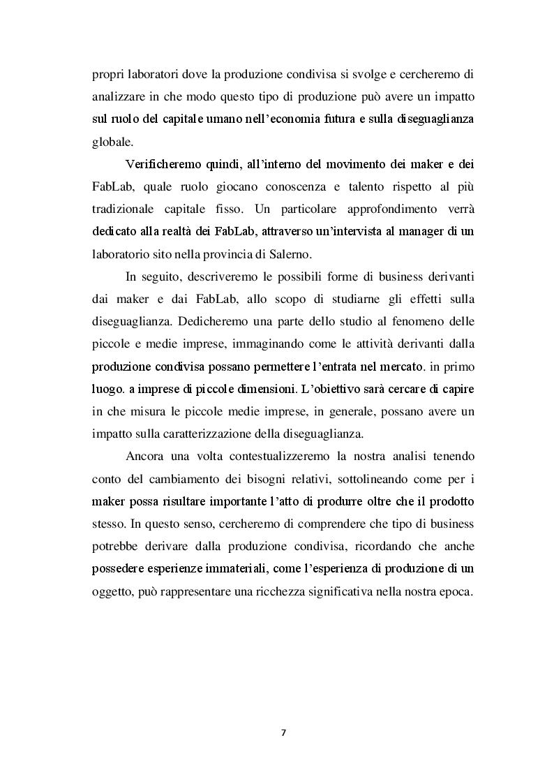 Anteprima della tesi: Capitale e lavoro nel XXI secolo: tra bisogni relativi e produzione condivisa, Pagina 5