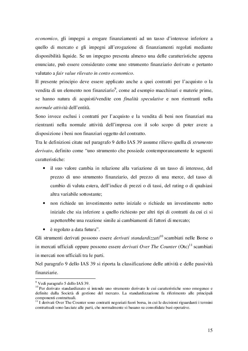 Estratto dalla tesi: Il passaggio dallo IAS 39 all'IFRS 9. Novità, criticità e aree di miglioramento