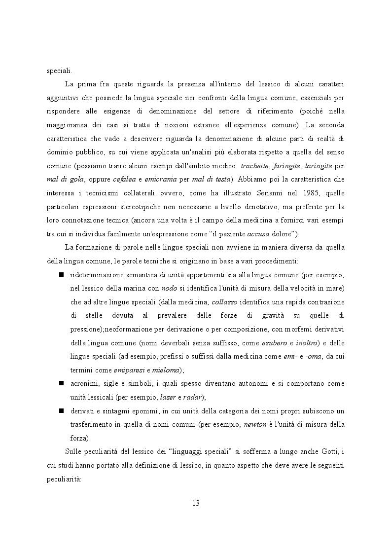 Estratto dalla tesi: Knight's Forensic Pathology. Strategie traduttive applicate a un testo di ambito medico-legale