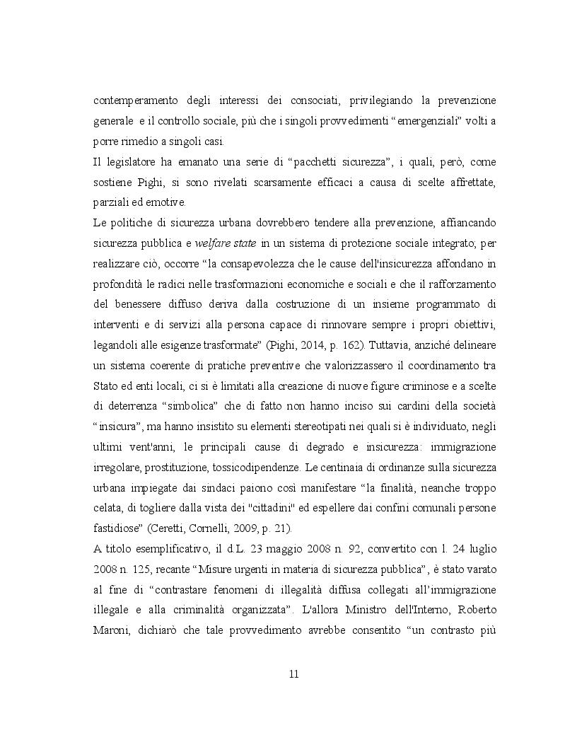 Estratto dalla tesi: Giovani devianti. Teorie criminologiche e pratiche di prevenzione